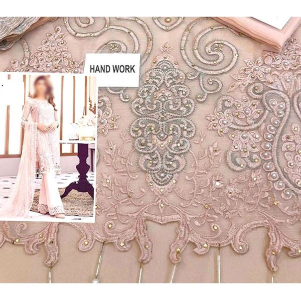 Handwork Embroidered Chiffon 3 Piece Suit Silvafashion.com - Online Shopping in Pakistan