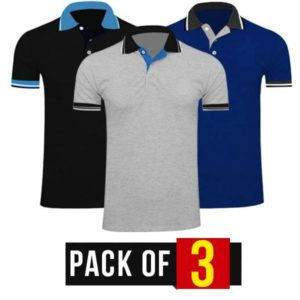 Pack of 3 Men's T-Shirts